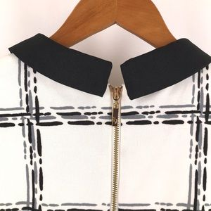 Eliza J Dresses - Eliza J Fit & Flare Collar Dress